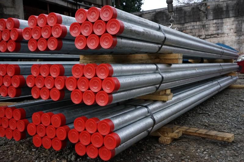 Distribuidores tubos galvanizados